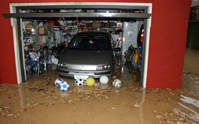 garage flooding