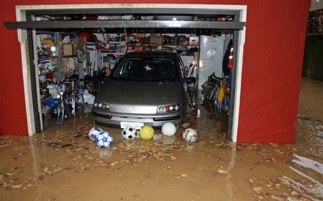 garage flooding